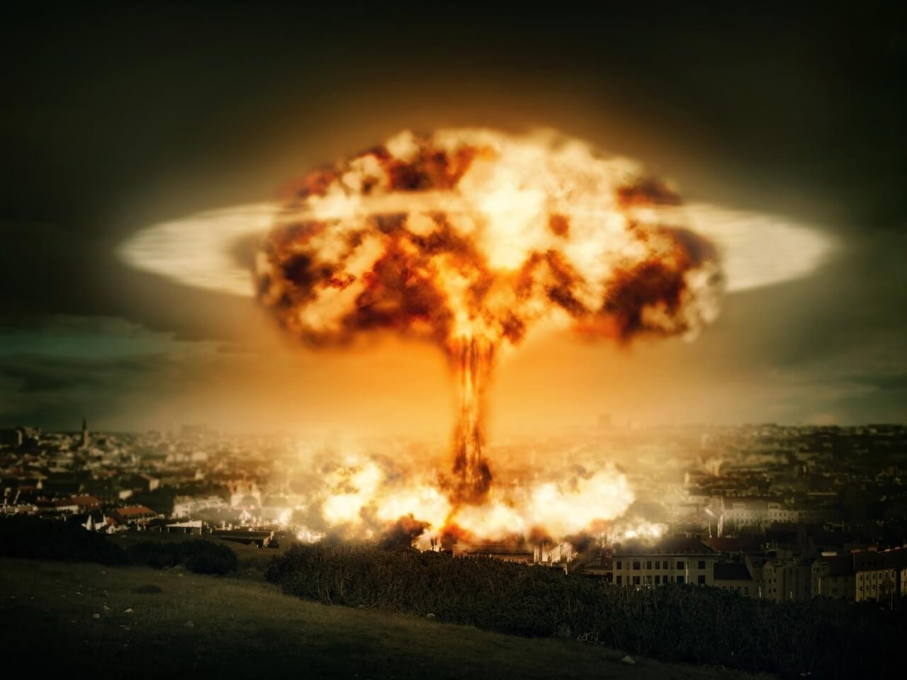 взрыв ядерный