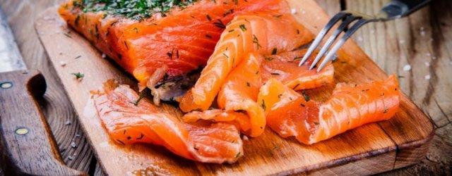 жирная рыба лосось
