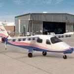 Электрический самолет X-57 от НАСА - представлен концепт