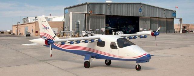 электро-самолет X-57