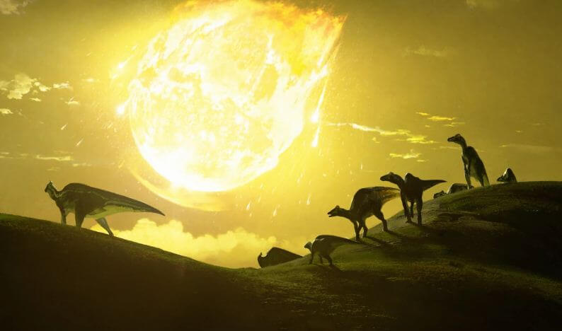 гибель динозавров астероид