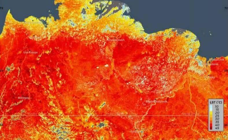 арктика температура рекорды