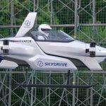 Одноместный SkyDrive SD-03 eVTOL совершил первый публичный тестовый полет