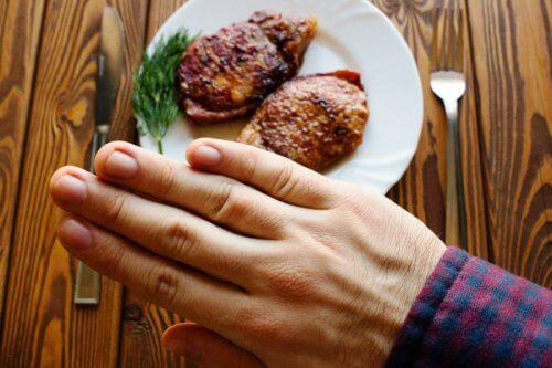мясо отказ