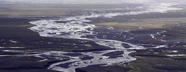 Исландия равнина
