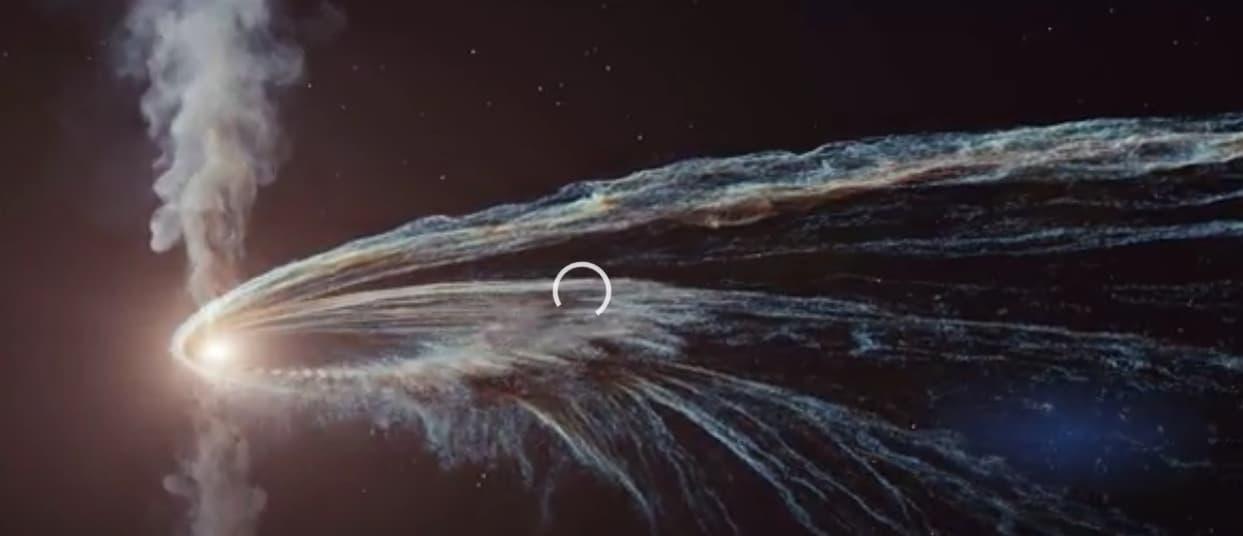 разрушение звезды
