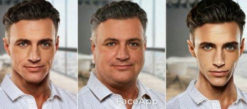 толстое худое лицо