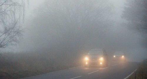 туман скорость иллюзия