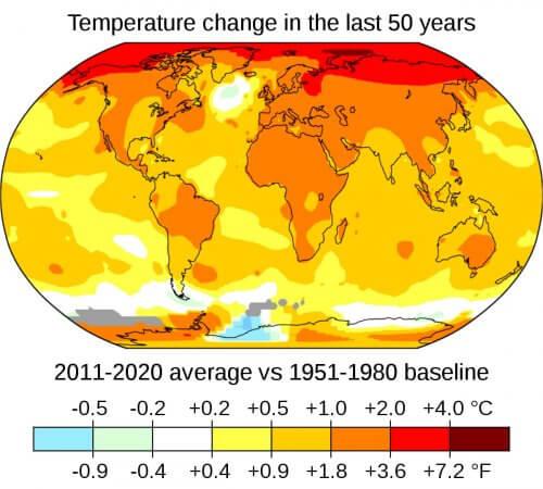 климат-глобальное потепление
