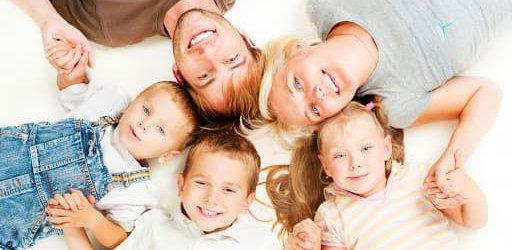 семья дети