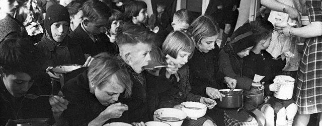 голод0Голландия-зима